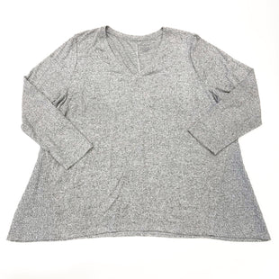Primary Photo - BRAND: LANE BRYANT STYLE: TOP LONG SLEEVE COLOR: GREY SIZE: 3X SKU: 180-18038-105519