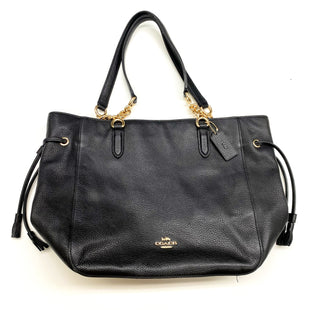 Primary Photo - BRAND: COACH STYLE: HANDBAG DESIGNER COLOR: BLACK SIZE: MEDIUM OTHER INFO: F72650, ELLE CHAIN TOTE, RETAIL $398 SKU: 180-18083-20771