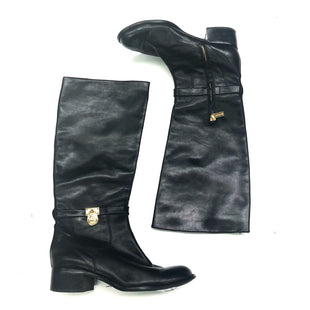 Primary Photo - BRAND: MICHAEL KORS STYLE: BOOTS DESIGNER COLOR: BLACK SIZE: 8.5 OTHER INFO: AS IS SKU: 180-18083-20195
