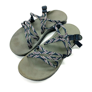 Primary Photo - BRAND: CHACOS STYLE: SANDALS FLAT COLOR: BLUE GREEN SIZE: 7 SKU: 180-18071-11202