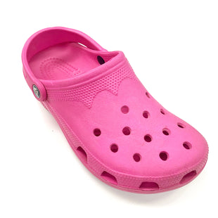 Primary Photo - BRAND: CROCS STYLE: SHOES FLATS COLOR: PINK SIZE: 8.5 OTHER INFO: AS IS SKU: 180-18083-25472