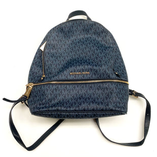 Primary Photo - BRAND: MICHAEL KORS STYLE: HANDBAG DESIGNER COLOR: BLUE SIZE: MEDIUM OTHER INFO: AC-1905 RETAIL $228 ABBEY PEBBLED LEATHER BACKPAC SKU: 180-18083-21060