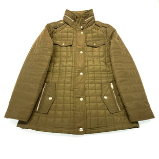 Primary Photo - BRAND: MICHAEL KORS STYLE: COAT SHORT COLOR: OLIVE SIZE: M OTHER INFO: DESIGNER SKU: 180-18071-10304