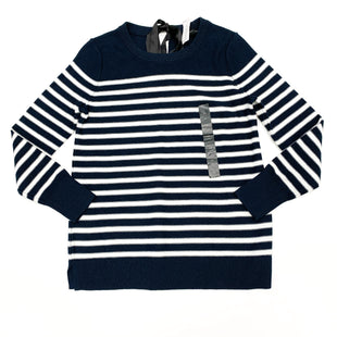 Primary Photo - BRAND: BANANA REPUBLIC O STYLE: SWEATER LIGHTWEIGHT COLOR: BLUE WHITE SIZE: XS SKU: 180-18083-13012