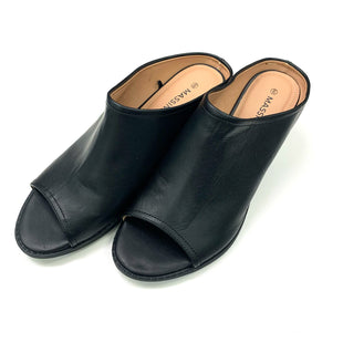 Primary Photo - BRAND: MASSINI STYLE: SHOES FLATS COLOR: BLACK SIZE: 9 SKU: 180-18083-25491