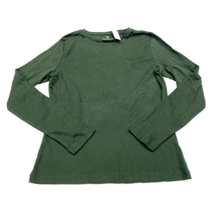 Primary Photo - BRAND: TALBOTS STYLE: TOP LONG SLEEVE BASIC COLOR: OLIVE SIZE: S SKU: 180-18071-10477