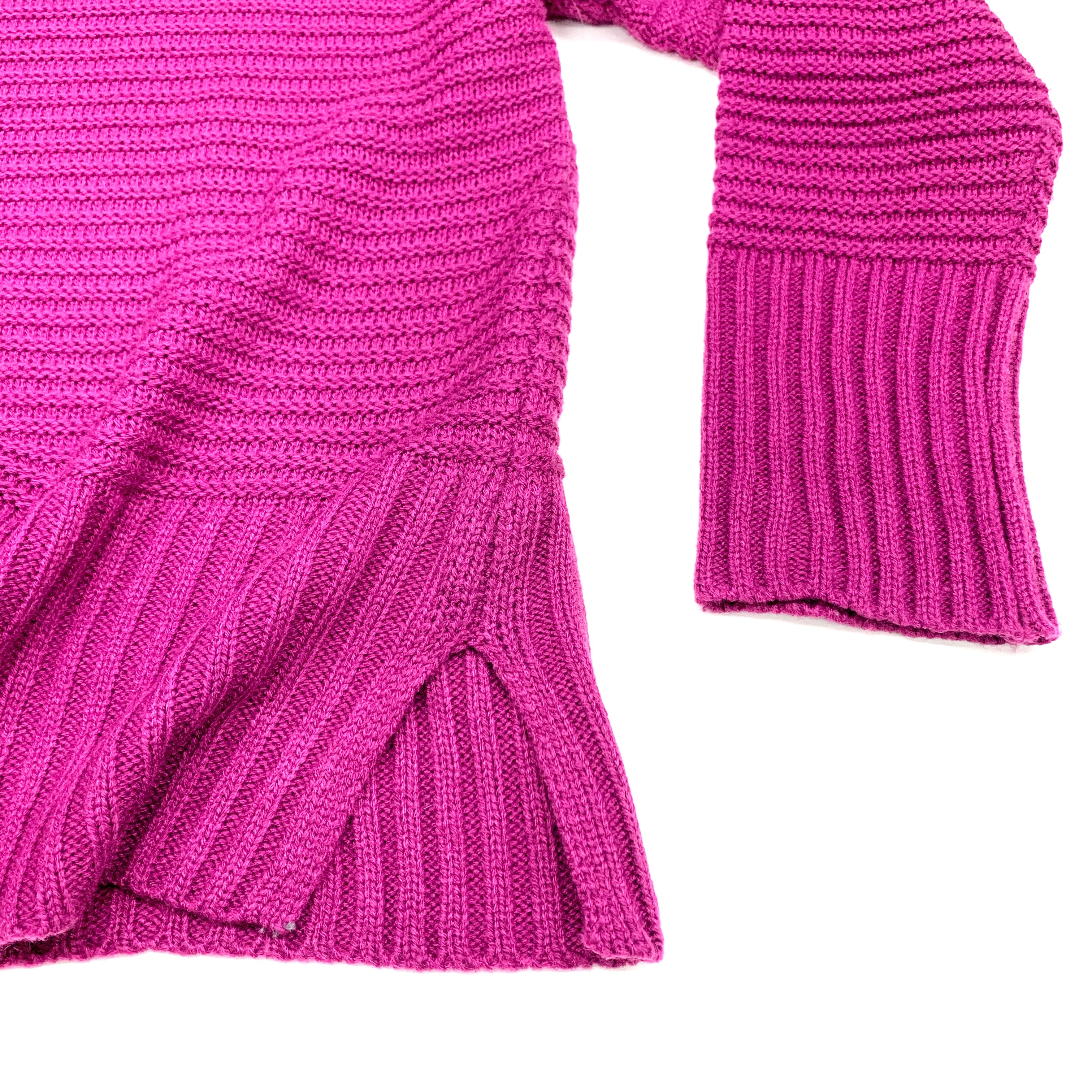 Photo #1 - BRAND: APT 9 <BR>STYLE: SWEATER LIGHTWEIGHT <BR>COLOR: PURPLE <BR>SIZE: L <BR>SKU: 180-18083-18225