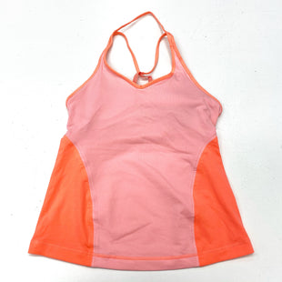 Primary Photo - BRAND: LULULEMON STYLE: ATHLETIC TANK TOP COLOR: ORANGE SIZE: S OTHER INFO: (6) DESIGNER SKU: 180-18083-25378