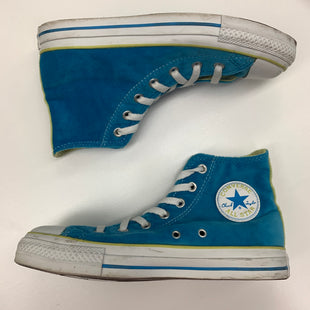Primary Photo - BRAND: CONVERSE STYLE: SHOES FLATS COLOR: TURQUOISE SIZE: 8 SKU: 180-18083-12933