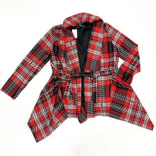 Primary Photo - BRAND: CATO STYLE: JACKET OUTDOOR COLOR: RED BLACK SIZE: S SKU: 180-18038-99747