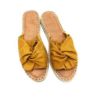 Primary Photo - BRAND: UNIVERSAL THREAD STYLE: SANDALS LOW COLOR: GOLD SIZE: 11 SKU: 180-18071-7395