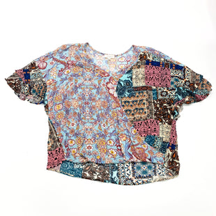 Primary Photo - BRAND: UMGEE STYLE: TOP SHORT SLEEVE COLOR: MULTI SIZE: 1X SKU: 180-18038-105663