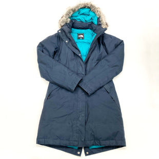 Primary Photo - BRAND: NORTHFACE STYLE: COAT LONG COLOR: NAVY SIZE: XS OTHER INFO: AS IS SKU: 180-18071-10914