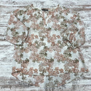 Primary Photo - BRAND: ROSE AND OLIVE STYLE: TOP LONG SLEEVE COLOR: FLORAL SIZE: 1X SKU: 180-18083-24650