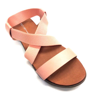 Primary Photo - BRAND: REPORT STYLE: SANDALS FLAT COLOR: CORAL SIZE: 7.5 SKU: 180-18083-15205