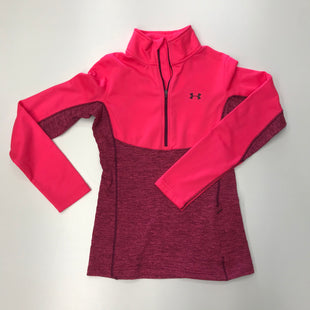 Primary Photo - BRAND: UNDER ARMOUR STYLE: ATHLETIC TOP COLOR: PINK SIZE: XS SKU: 180-18038-88404