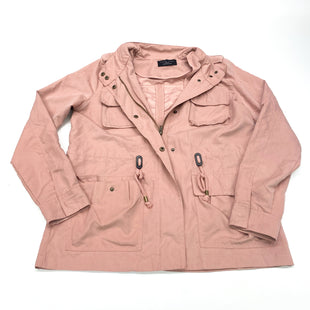 Primary Photo - BRAND: LOVE TREE STYLE: JACKET OUTDOOR COLOR: DUSTY PINK SIZE: S SKU: 180-18038-104764