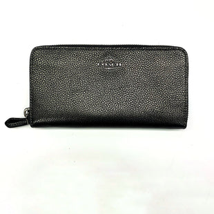 Primary Photo - BRAND: COACH STYLE: WALLET COLOR: PEWTER SIZE: MEDIUM OTHER INFO: DESIGNER SKU: 180-18071-7327