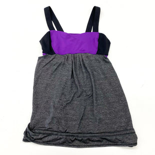 Primary Photo - BRAND: LULULEMON STYLE: ATHLETIC TANK TOP COLOR: GREY SIZE: S OTHER INFO: (6) DESIGNER SKU: 180-18083-25384