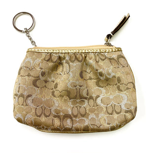 Primary Photo - BRAND: COACH STYLE: COIN PURSE COLOR: TAN SIZE: SMALL SKU: 180-18083-20916