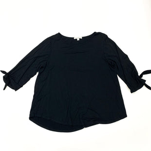 Primary Photo - BRAND: GREEN ENVELOPE STYLE: TOP LONG SLEEVE COLOR: BLACK SIZE: 1X SKU: 180-18038-105324