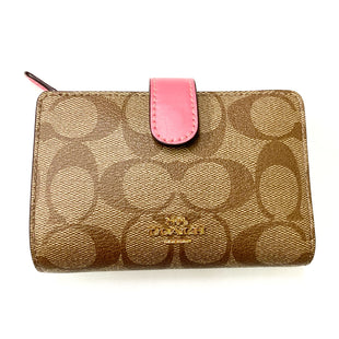 Primary Photo - BRAND: COACH STYLE: WALLET COLOR: BROWN SIZE: MEDIUM OTHER INFO: DESIGNER SKU: 180-18057-12092