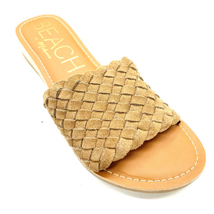 Primary Photo - BRAND: MATISSE STYLE: SANDALS FLAT COLOR: TAN SIZE: 8 SKU: 180-18071-6217