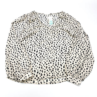 Primary Photo - BRAND: LUSH STYLE: BLOUSE COLOR: ANIMAL PRINT SIZE: L SKU: 180-18083-24886