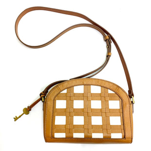 Primary Photo - BRAND: FOSSIL STYLE: HANDBAG LEATHER COLOR: TAN SIZE: MEDIUM SKU: 180-18038-98769