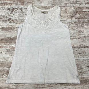 Primary Photo - BRAND: ANN TAYLOR LOFT O STYLE: TOP SLEEVELESS COLOR: WHITE SIZE: XS SKU: 180-18071-11715