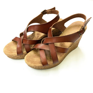 Primary Photo - BRAND: ALTARD STATE STYLE: SANDALS HIGH COLOR: BROWN SIZE: 8.5 SKU: 180-18086-52