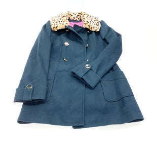 Primary Photo - BRAND: BETSEY JOHNSON STYLE: COAT WOOL COLOR: NAVY SIZE: M OTHER INFO: (10) SKU: 180-18038-102491