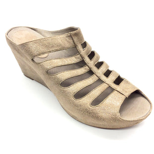 Primary Photo - BRAND: JOHNSTON & MURPHY STYLE: SANDALS LOW COLOR: TAN SIZE: 9.5 SKU: 180-18038-90904