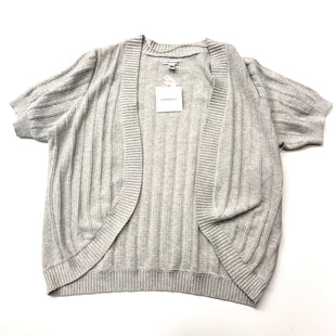 Primary Photo - BRAND: CROFT AND BARROW STYLE: SWEATER CARDIGAN LIGHTWEIGHT COLOR: GREY SIZE: 1X SKU: 180-18071-4260