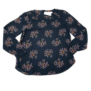 Primary Photo - BRAND: ANN TAYLOR LOFT STYLE: TOP LONG SLEEVE COLOR: NAVY SIZE: S SKU: 180-18057-13753