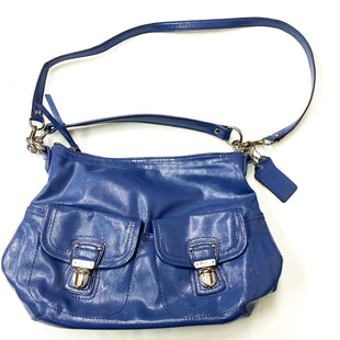 Primary Photo - BRAND: COACH STYLE: HANDBAG DESIGNER COLOR: BLUE SIZE: LARGE OTHER INFO: F23401 SKU: 180-18083-20912