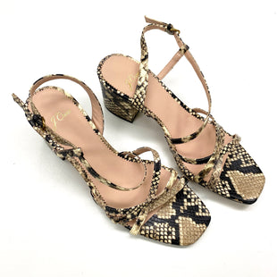 Primary Photo - BRAND: J CREW O STYLE: SANDALS LOW COLOR: ANIMAL PRINT SIZE: 8 SKU: 180-18083-20522