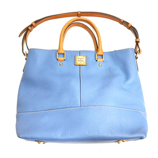 Primary Photo - BRAND: DOONEY AND BOURKE STYLE: HANDBAG DESIGNER COLOR: LIGHT BLUE SIZE: LARGE OTHER INFO: AS IS SKU: 180-18038-98753