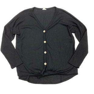 Primary Photo - BRAND:    CLOTHES MENTOR STYLE: TOP LONG SLEEVE COLOR: BLACK SIZE: M OTHER INFO: BIBI - SKU: 180-18083-13286