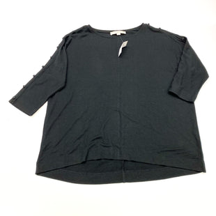 Primary Photo - BRAND: ANN TAYLOR LOFT STYLE: TOP LONG SLEEVE COLOR: BLACK SIZE: S SKU: 180-18038-104936