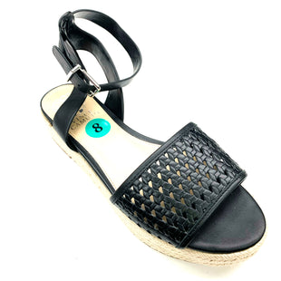 Primary Photo - BRAND: VINCE CAMUTO STYLE: SANDALS FLAT COLOR: BLACK SIZE: 8 SKU: 180-18083-17394