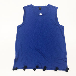 Primary Photo - BRAND: J CREW STYLE: TOP SLEEVELESS BASIC COLOR: ROYAL BLUE SIZE: S SKU: 180-18083-24110