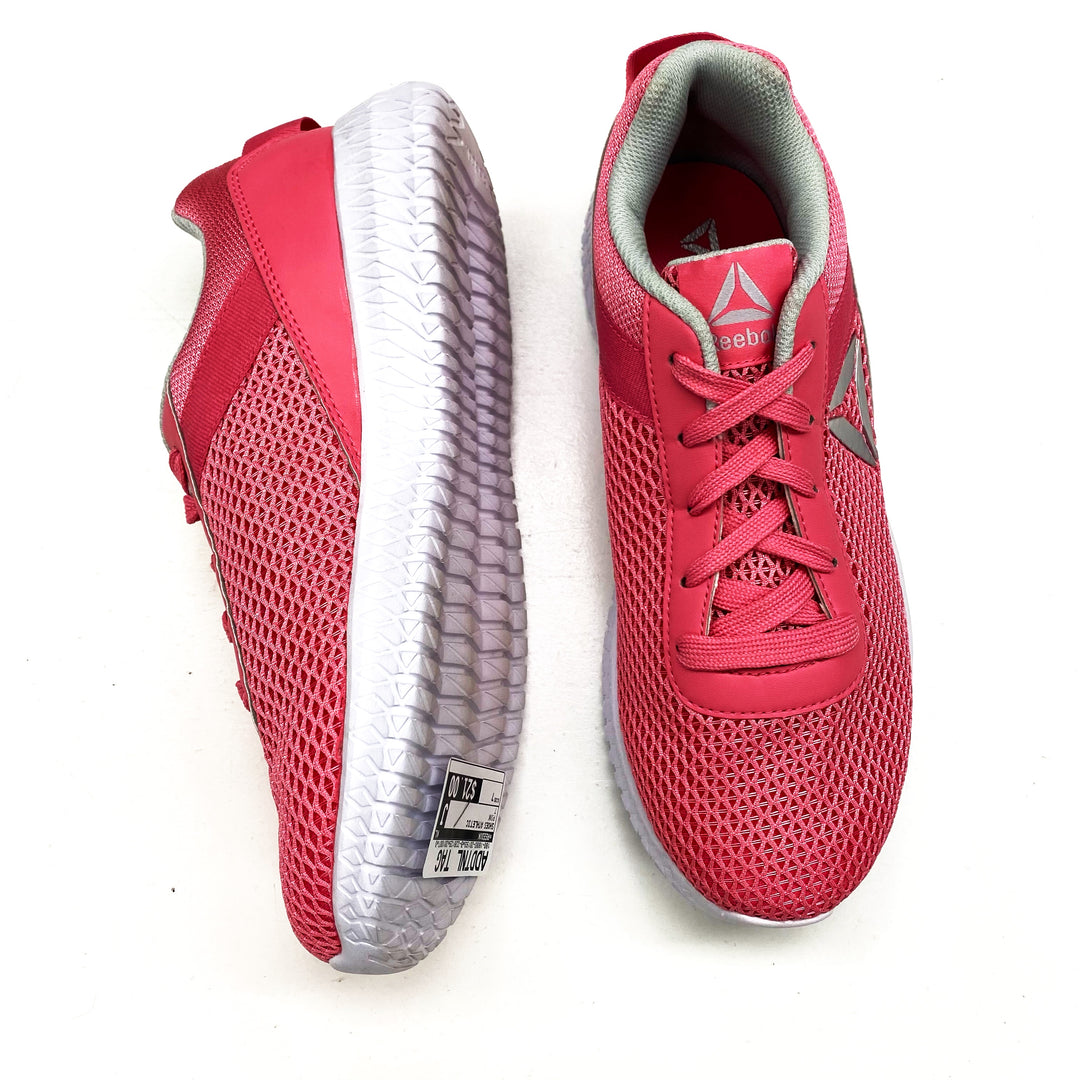 Photo #1 - BRAND: REEBOK <BR>STYLE: SHOES ATHLETIC <BR>COLOR: PINK <BR>SIZE: 7 <BR>SKU: 180-18083-20193