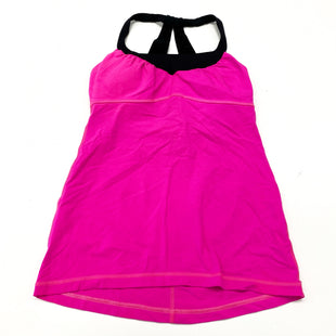 Primary Photo - BRAND: LULULEMON STYLE: ATHLETIC TANK TOP COLOR: HOT PINK SIZE: S OTHER INFO: DESIGNER, AS IS-NO TAG SKU: 180-18083-25387