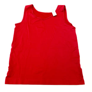 Primary Photo - BRAND: CHICOS STYLE: TANK BASIC CAMI COLOR: BURGUNDY SIZE: L OTHER INFO: (2) SKU: 180-18071-11641