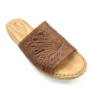 Primary Photo - BRAND: BORN STYLE: SANDALS FLAT COLOR: TAN SIZE: 8 OTHER INFO: AS IS SKU: 180-18071-11836