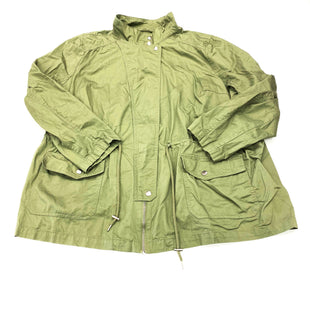 Primary Photo - BRAND: AVA & VIV STYLE: JACKET OUTDOOR COLOR: OLIVE SIZE: 4X SKU: 180-18071-10197