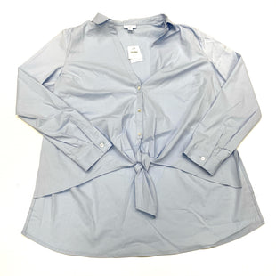 Primary Photo - BRAND: J JILL STYLE: BLOUSE COLOR: LIGHT BLUE SIZE: L SKU: 180-18038-105417
