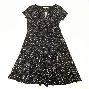Primary Photo - BRAND: ANN TAYLOR LOFT STYLE: DRESS SHORT SHORT SLEEVE COLOR: BLACK WHITE SIZE: PETITE   XS SKU: 180-18038-105592