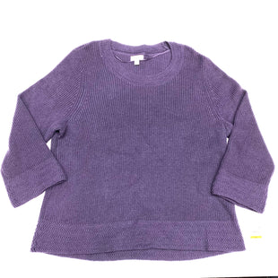 Primary Photo - BRAND: STYLE AND COMPANY STYLE: SWEATER HEAVYWEIGHT COLOR: PURPLE SIZE: 3X SKU: 180-18038-94823